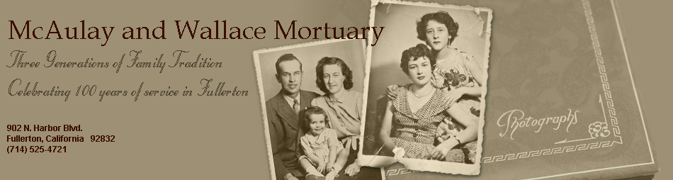 McAulay and Wallace Mortuary